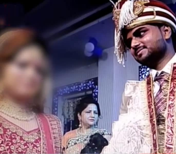 Groom leaves Wedding after Dowry Demands Not Met - couple