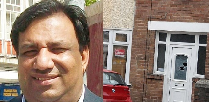 Gunshots fired at Councillor Mohammad Maroof's Home f