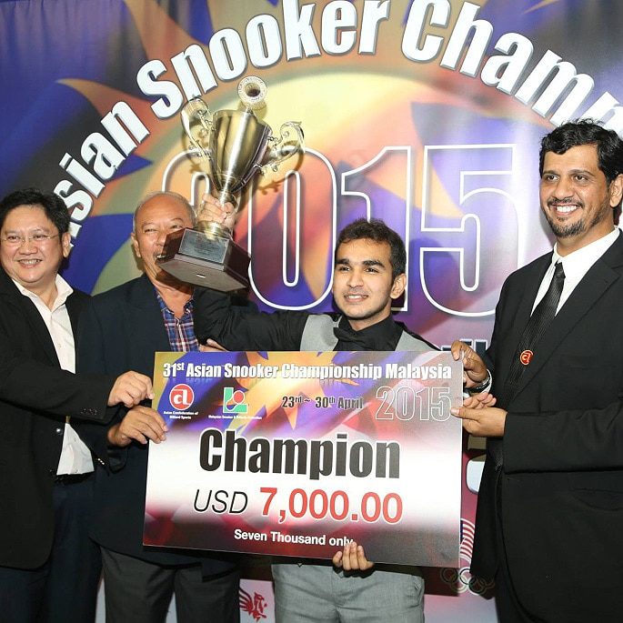 Hamza Akbar hopes to become the Lion of Snooker - IA 1