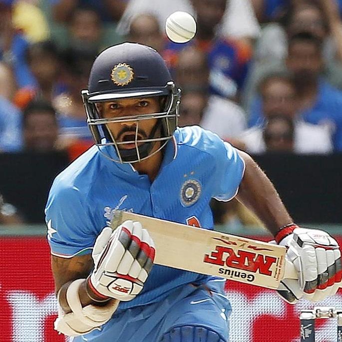 India All-Time ODI XI: Cricket World Cup - Shikhar Dhawan
