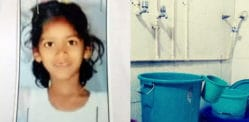 Indian Girl aged 7 Falls in Bathroom and Survives on Water
