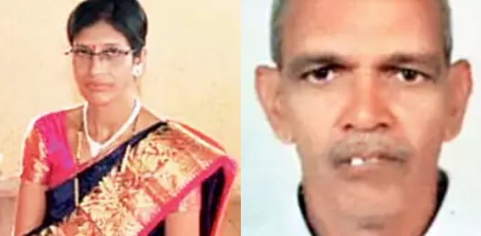 Indian Man kills Wife & Stabs Daughter for Arranging Marriage f