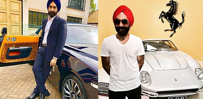 Luxury Cars owned by Reuben Singh f