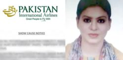 PIA issue Notice to Air Hostess who Eloped with Boyfriend