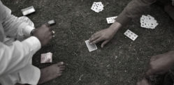 Pakistani Man gambles Wife & Beats Her for not Joining Friends