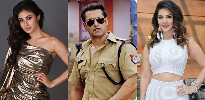 Salman selects Mouni Roy and Not Sunny for Dabangg 3 f
