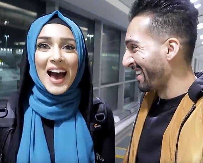 Sham Idrees and Froggy excite Fans with Pakistan Visit - surprise