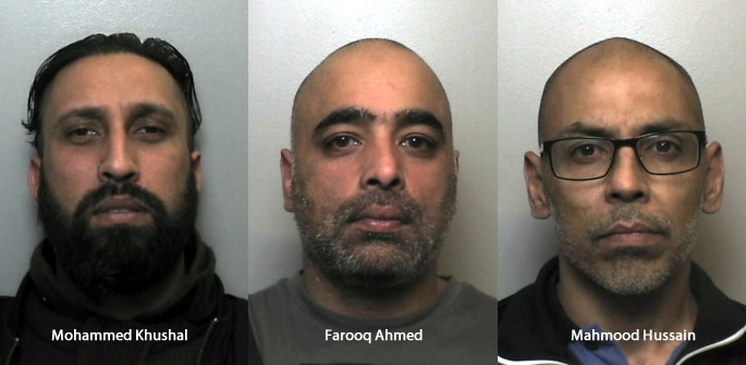 Stoke Drug Gang jailed for selling £150k Cocaine in 5 Weeks f