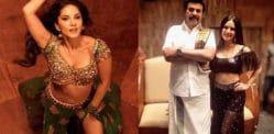 மம்முட்டி மற்றும் 'மதுரா ராஜா' ரசிகர்களுடன் சன்னி லியோன் பரவசம்