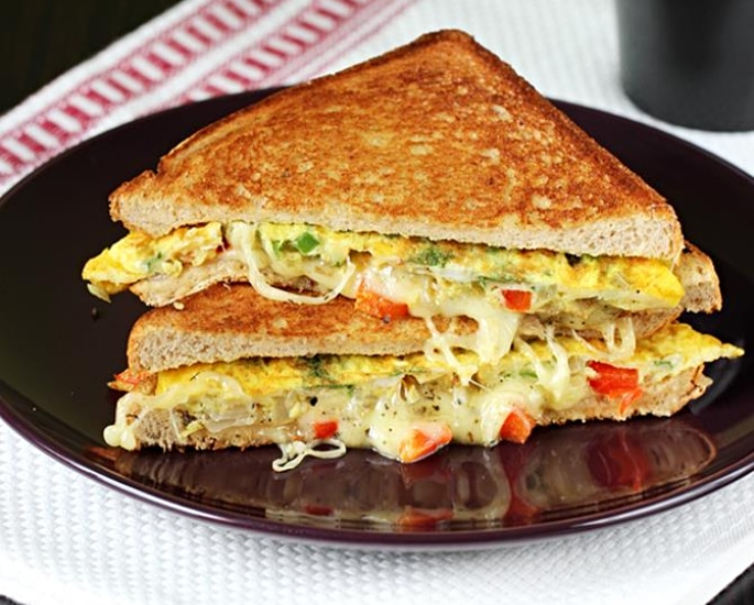 10 Indian Sandwich Recipes and Fillings to Enjoy - omelette