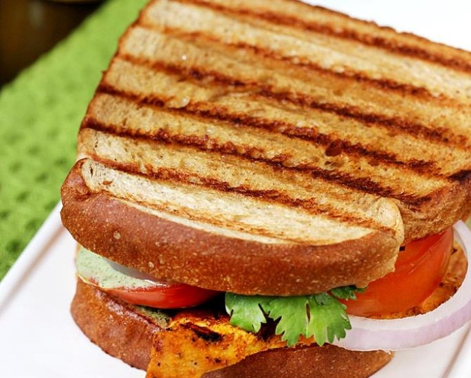 10 Indian Sandwich Recipes and Fillings to Enjoy - tandoori