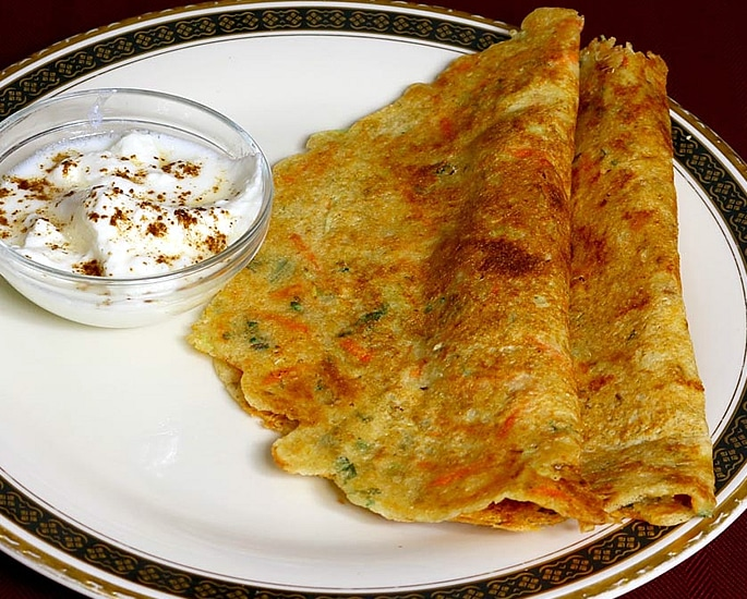 7 Easy Indian Carrot Recipes to Make at Home - dosa