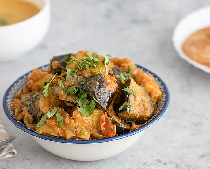 7 Indian Aubergine Recipes to Make and Enjoy - aloo