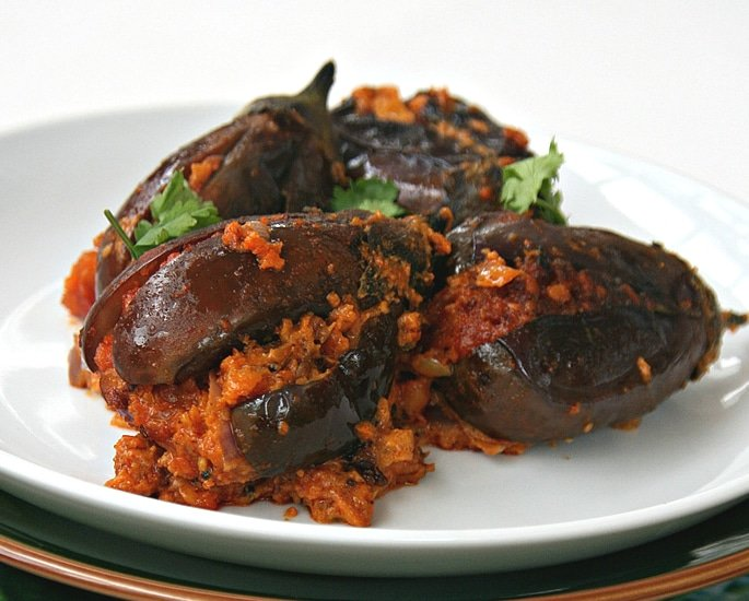 7 Indian Aubergine Recipes to Make and Enjoy - stuffed
