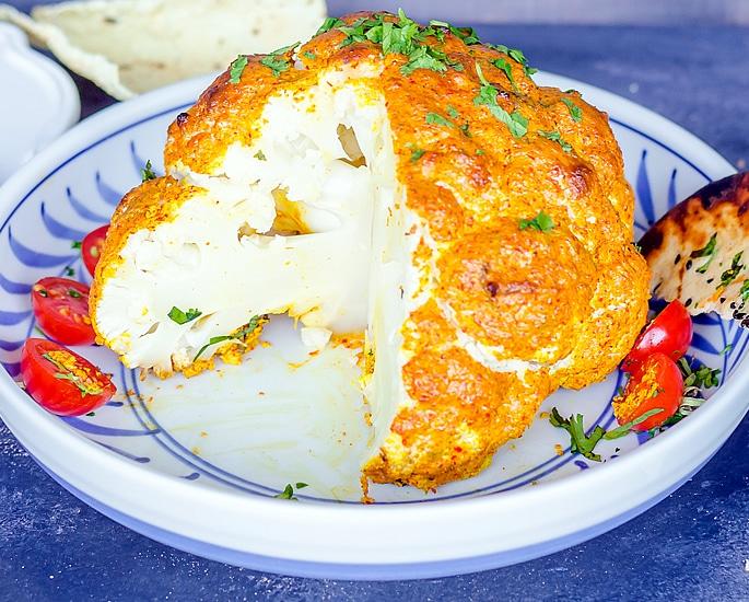 7 Indian Cauliflower Recipes to Make and Enjoy - roasted cauli