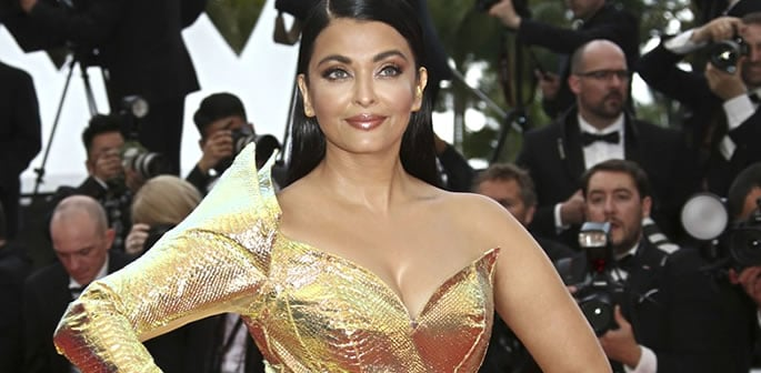 Aishwarya Rai Bachchan dazzles in Gold at Cannes 2019 ft