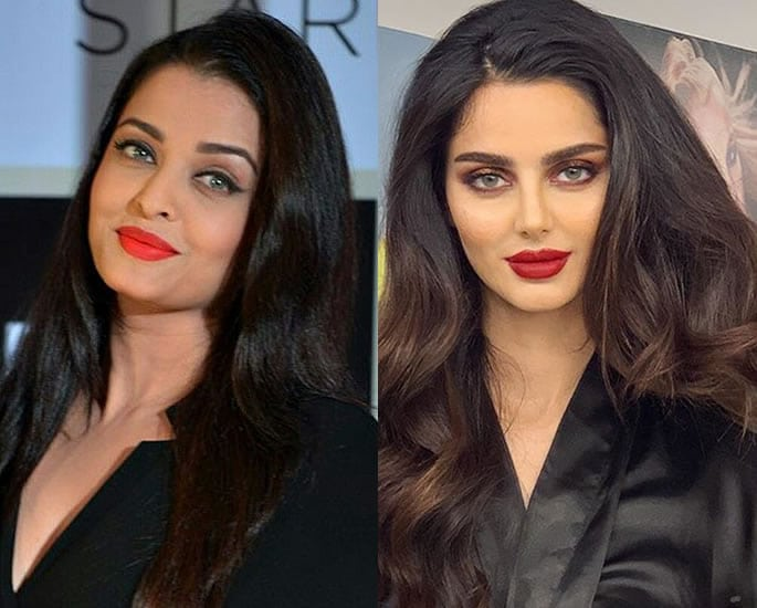 Aishwarya Rai has a Look Alike who's an Iranian Model - black and rd