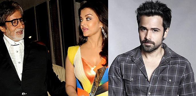 Aishwarya Unhappy with Amitabh for Film with Emraan Hashmi f