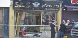 Asian Jewellers victim of Daytime Ram Raid