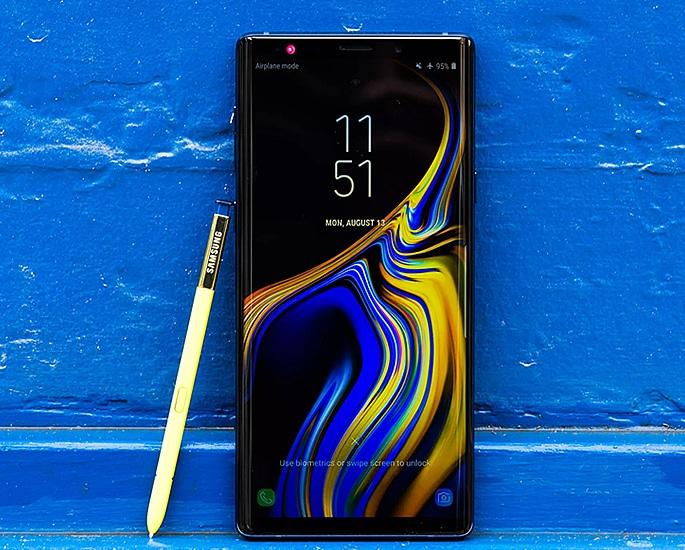 મોબાઇલ ગેમિંગ માટે ખરીદવા માટેના શ્રેષ્ઠ સ્માર્ટફોન - નોંધ 9