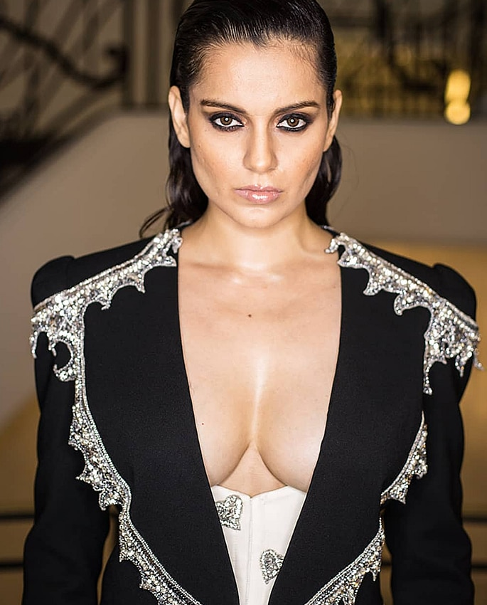 Bollywood Stars at Cannes Film Festival 2019 - kangana 2