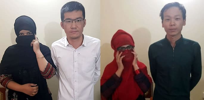 Chinese Gang arrested for luring Pakistani Girls into Prostitution f