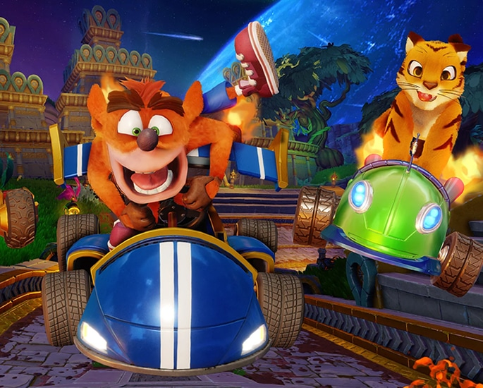Crash Team Racing Nitro Fueled A Lap of Nostalgia - characters