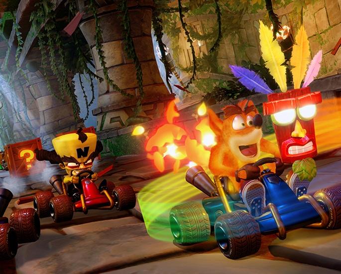 Crash Team Racing Nitro Fueled A Lap of Nostalgia - graphics
