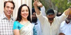 Dharmendra praises Sunny Deol & Hema Malini Election Wins