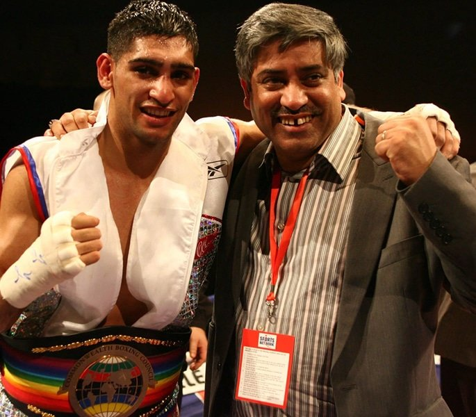 Amir Khan's Dad quits running his Business amid Family Feud