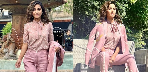 Hina Khan shares her Stylish Look at Cannes Festival 2019 f