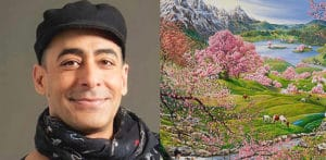 How Artist Raqib Shaw is Representing Kashmir in his Paintings f