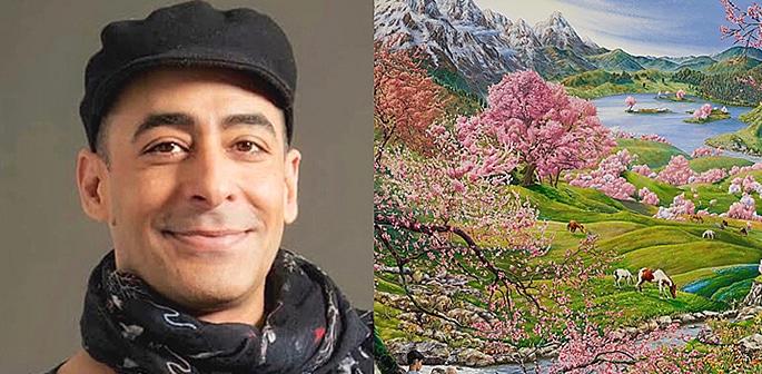 How Artist Raqib Shaw is Representing Kashmir in his Paintings f