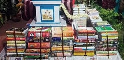 Indian Bride's Family give Groom a Dowry of 1,000 Books