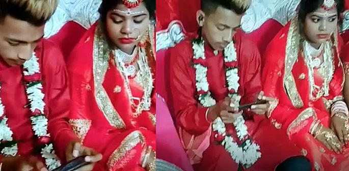 Indian Groom playing PUBG at Wedding Ceremony goes Viral f
