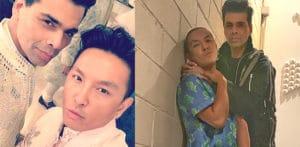 Is Karan Johar dating designer Prabal Gurung or Not f
