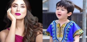 Kareena doesn't Allow Taimur to Eat or Drink Outside f