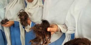 Lady Teacher cuts off Hair of Students in Pakistan f