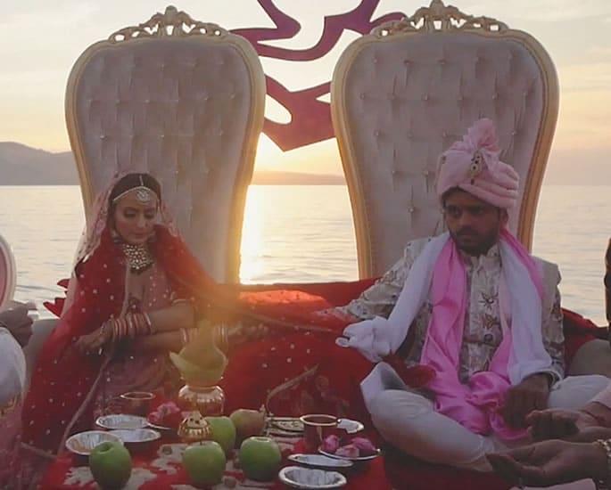Lavish $2 Million Indian Wedding in Turkey celebrated in Style - couple