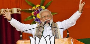 Modi declares Thumping Victory for BJP in India Elections f