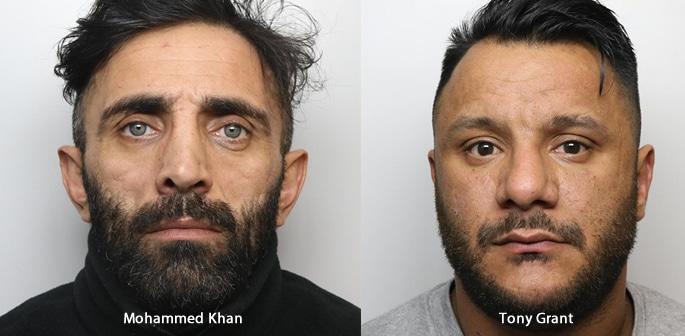 Mohammed 'Meggy' Khan and Tony Grant jailed for Murder f