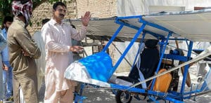 Pakistani Popcorn seller builds Own Aeroplane f