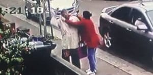Pensioner 'hugged' and has Gold Necklace stolen in Southall f