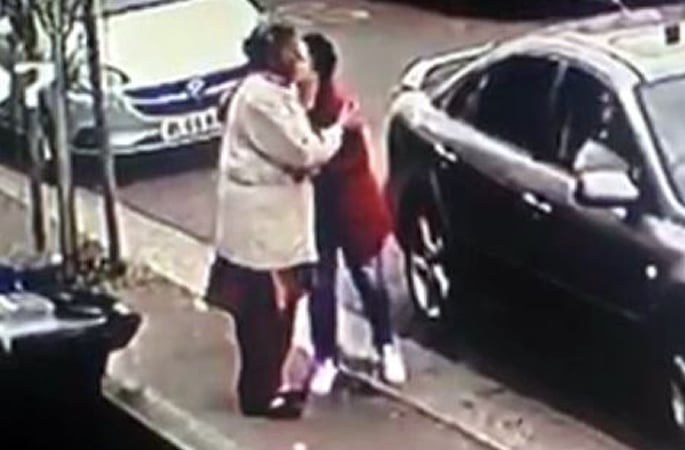 Pensioner 'hugged' and has Gold Necklace stolen in Southall