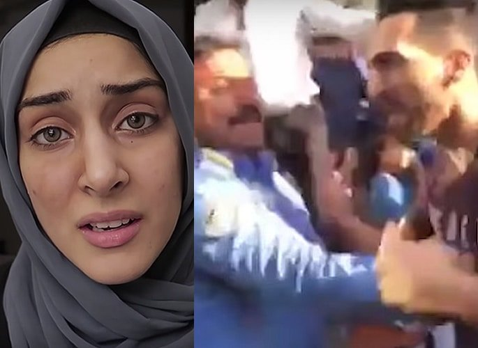 Sham Idrees' Wife Froggy 'punched in face' by Karachi Mob