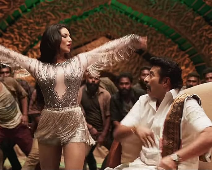 Sunny Leone sizzles in 'Moha Mundiri' Song with Mammootty