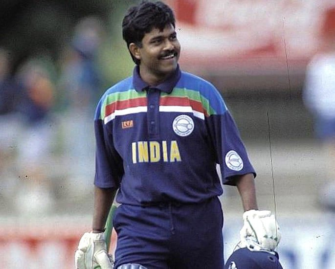 Team India Cricket World Cup Kit Evolution - Pravin Amre
