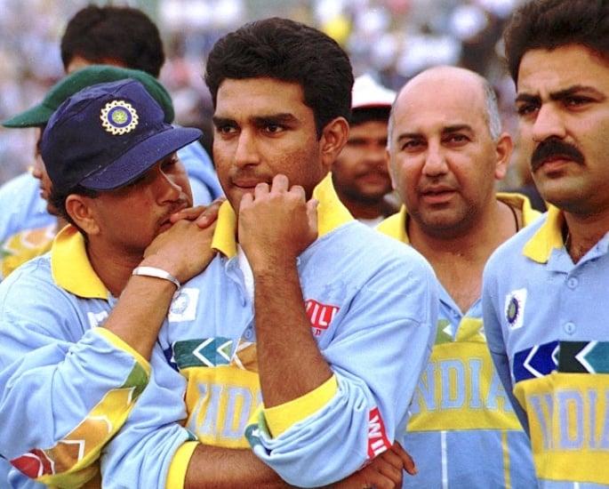 टीम इंडिया क्रिकेट विश्व कप किट विकास - संजय मांजरेकर 1