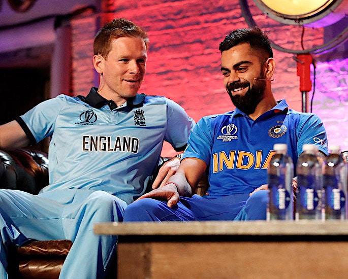 टीम इंडिया क्रिकेट विश्व कप किट विकास - विराट कोहली 1