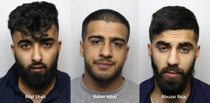 Three Men jailed for Stealing three Luxury Cars from House f